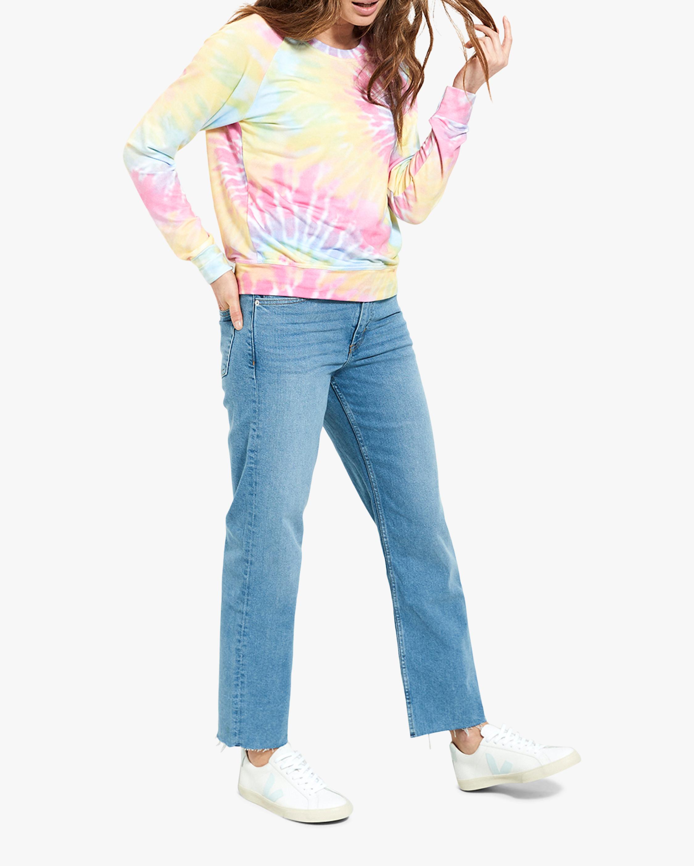 Stripe & Stare Tie Dye Sweatshirt 1