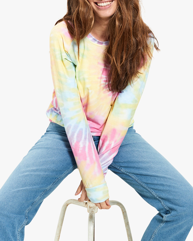 Stripe & Stare Tie Dye Sweatshirt 4