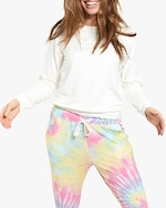Stripe & Stare Tie Dye Lounge Pants 2