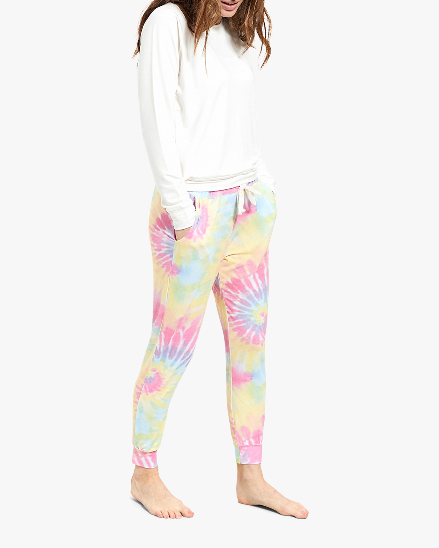 Stripe & Stare Tie Dye Lounge Pants 1