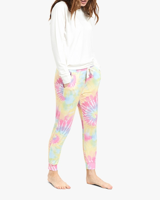 Stripe & Stare Tie Dye Lounge Pants 0