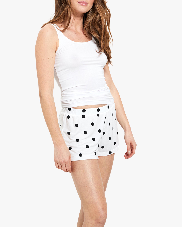 Stripe & Stare Polka Dot Bed Shorts 1