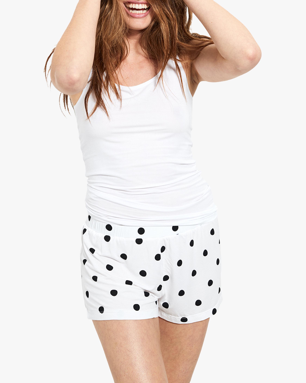Stripe & Stare Polka Dot Bed Shorts 2