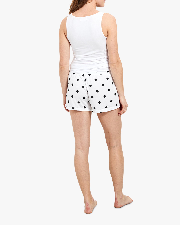 Stripe & Stare Polka Dot Bed Shorts 3