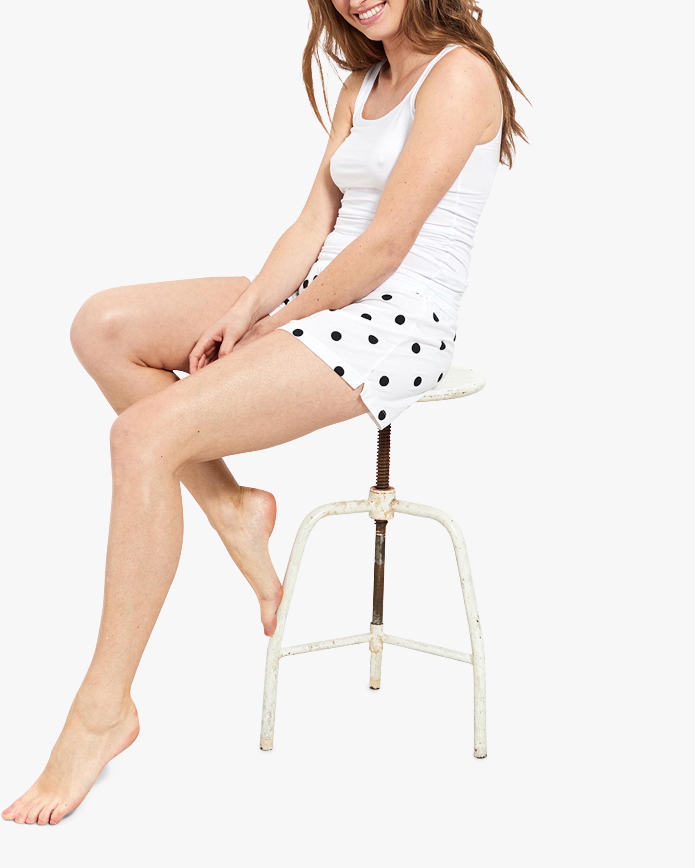 Stripe & Stare Polka Dot Bed Shorts 4