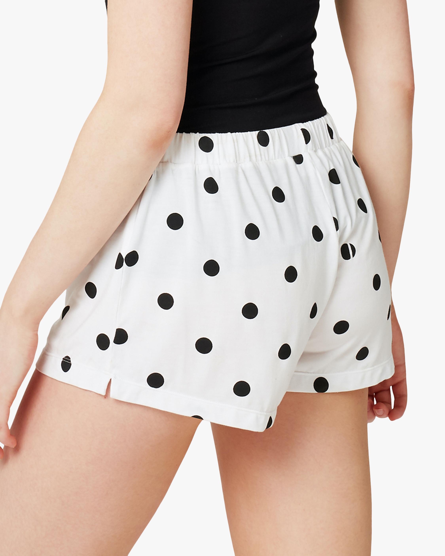 Stripe & Stare Polka Dot Bed Shorts 5