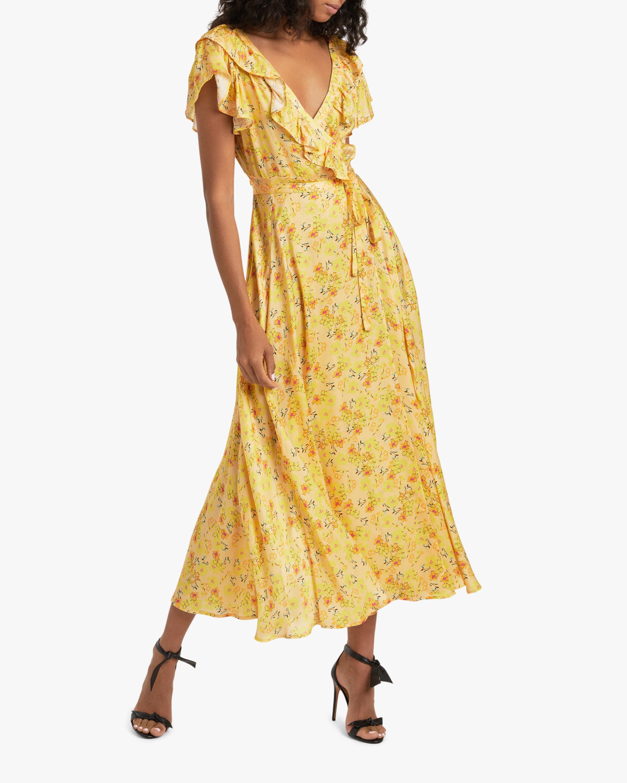 byTimo Satin Midi Wrap Dress 2