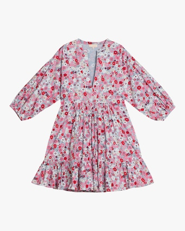 Structured Cotton Shift Dress
