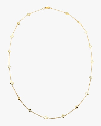 Ivy Eternity Station Necklace