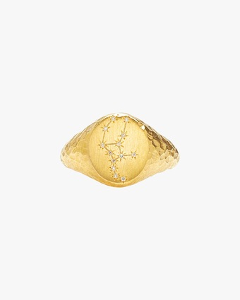 Virgo Signet Ring