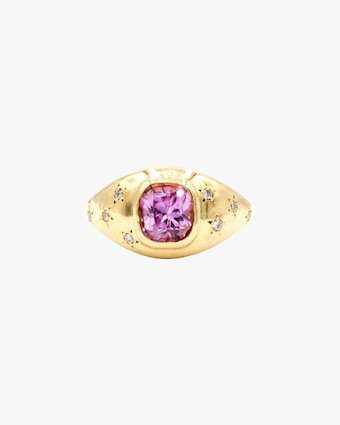 Pink Sapphire Imogen Ring