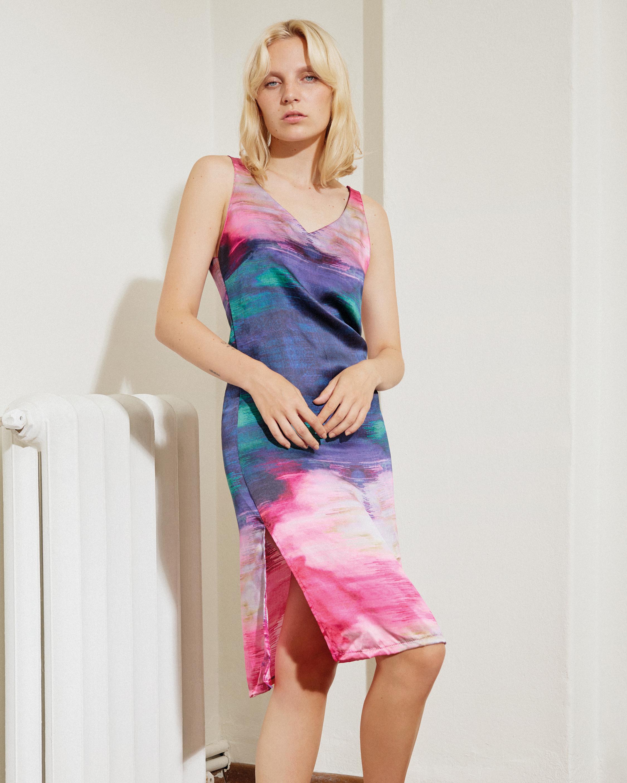 Else Maui Camisole Tie Dye Midi Dress 1