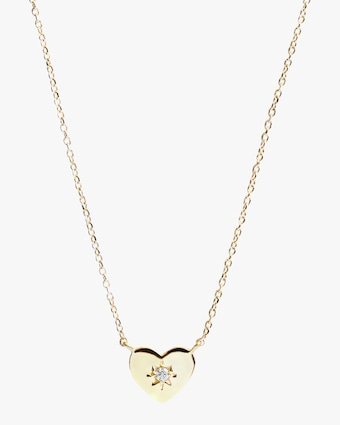 Jac + Jo Diamond Heart Pendant Necklace 1