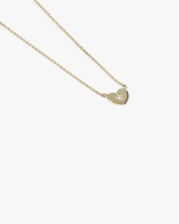 Jac + Jo Diamond Heart Pendant Necklace 1