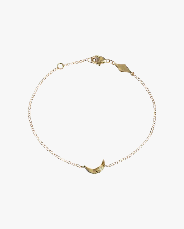 Jac + Jo Crescent Moon Bracelet 1