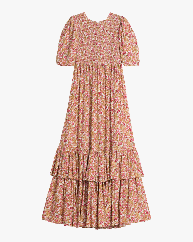 byTimo Smocking Maxi Dress 0