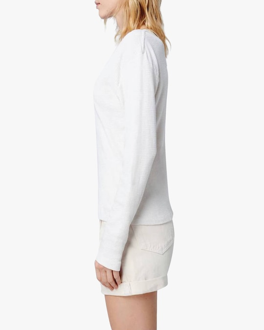 RE/DONE Long-Sleeve Henley 1