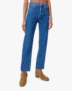 RE/DONE High-Rise Stovepipe Jeans 1