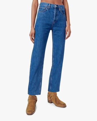 RE/DONE High-Rise Stovepipe Jeans 2