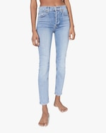 RE/DONE High-Rise Ankle Skinny Jeans 1