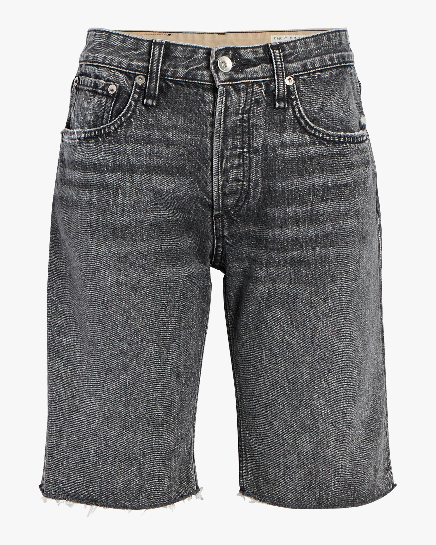 rag & bone Rosa Mid-Rise Walking Shorts 0