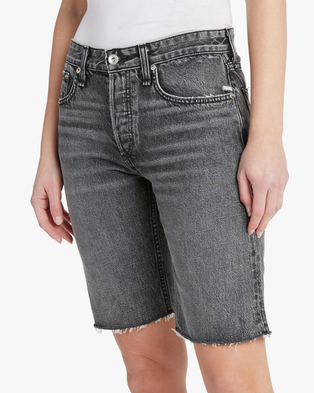rag & bone Rosa Mid-Rise Walking Shorts 2