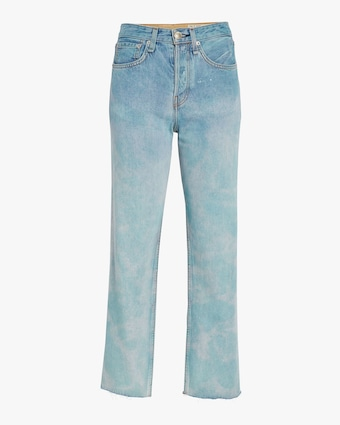 Maya High-Rise Ankle Straight Jeans