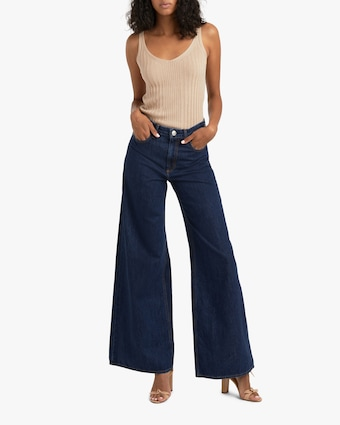 Ruth Super High-Rise Ultra Wide-Leg Jeans