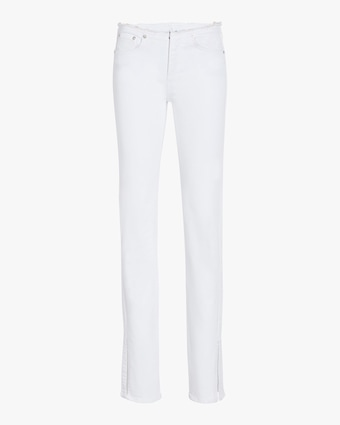 Cate Low-Rise Cut-Off Flare Jeans
