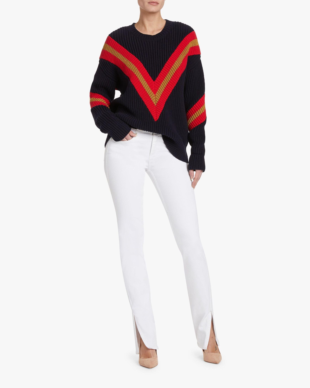 rag & bone Cate Low-Rise Cut-Off Flare Jeans 2