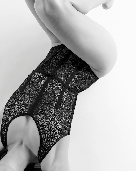 Opaak Eileen Lace Gathered Bodysuit 1