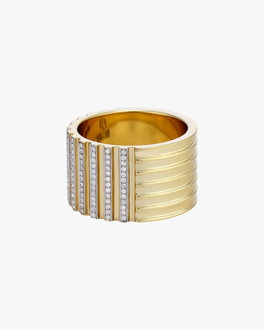 Swati Dhanak Two-Way Column Ring 0