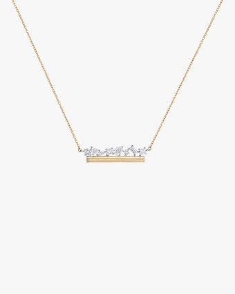 Column Bar Necklace