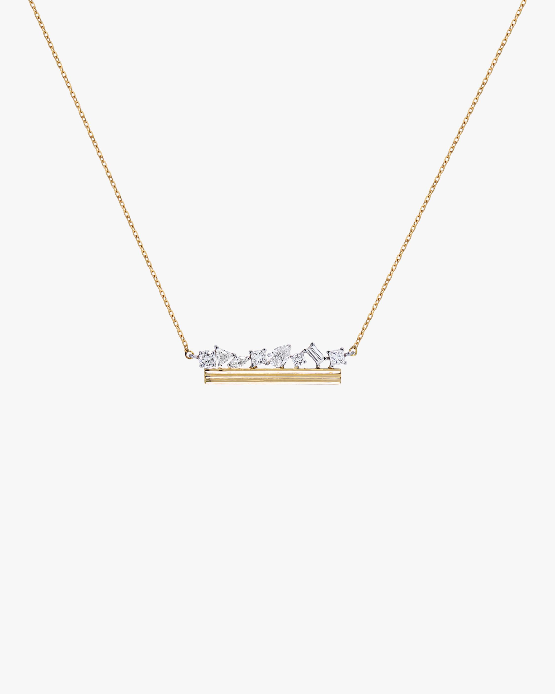 Swati Dhanak Column Bar Necklace 0