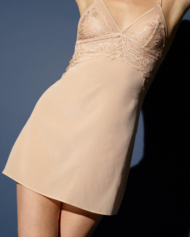 Noelle Wolf Japanese Lace Slip Dress 1