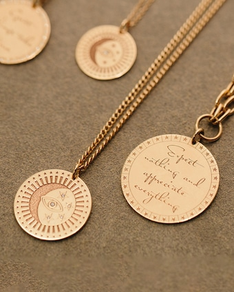 Expect Nothing and Appreciate Everything Pendant Necklace