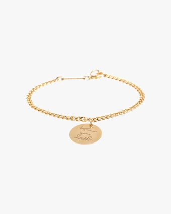 Know Your Worth Charm Bracelet