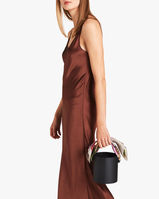Montunas Isla Leather Bucket Bag 1