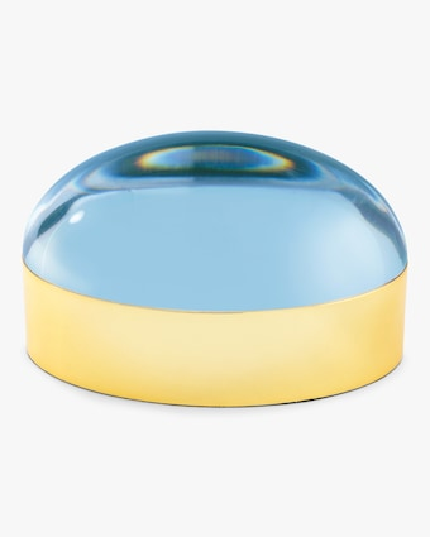 Large Blue Globo Box
