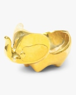Jonathan Adler Brass Elephant Ring Bowl 0