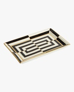 Jonathan Adler Op Art Rectangle Tray 0
