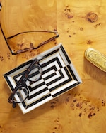 Jonathan Adler Op Art Rectangle Tray 1