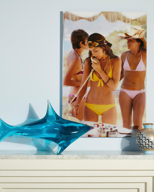 Jonathan Adler Giant Acrylic Shark 1