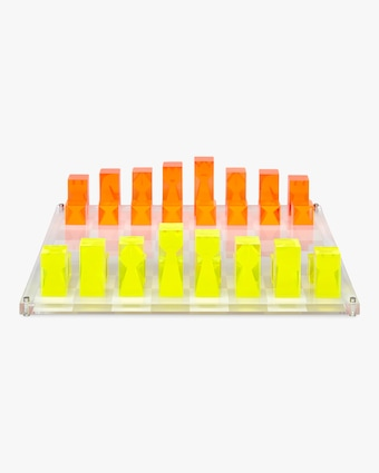 Jonathan Adler Acrylic Chess Set 1