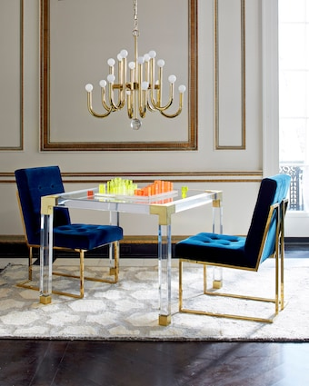 Jonathan Adler Acrylic Chess Set 2