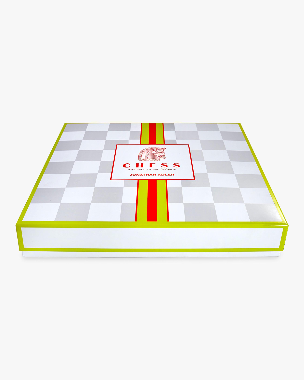 Jonathan Adler Acrylic Chess Set 4