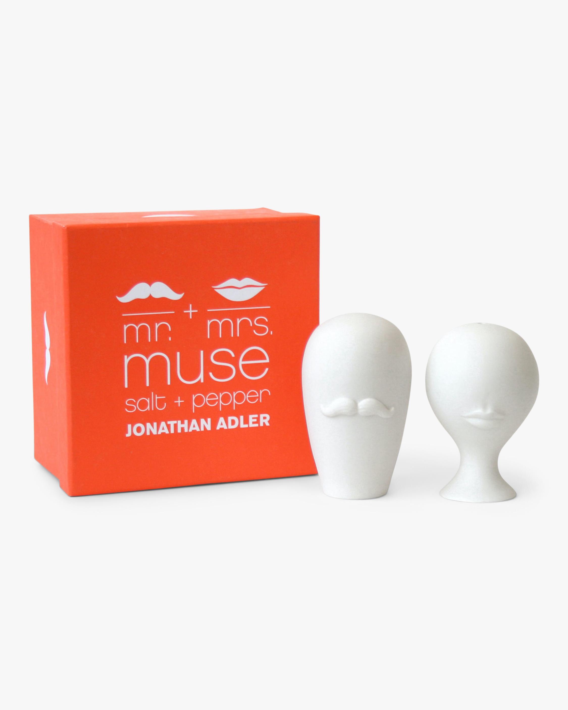 Jonathan Adler Mr. & Mrs. Muse Salt & Pepper Set 1