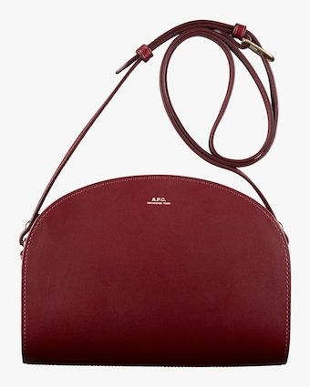 A.P.C. Demi-Lune Crossbody Bag 1
