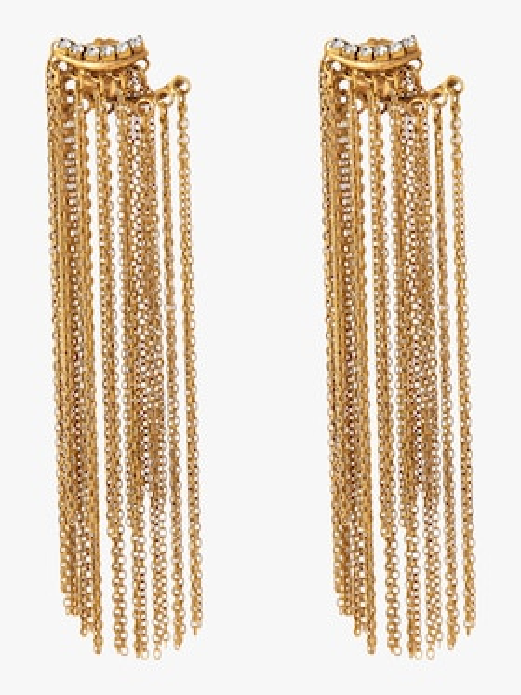 Breaker Of Chains Fringe Jacket Earrings