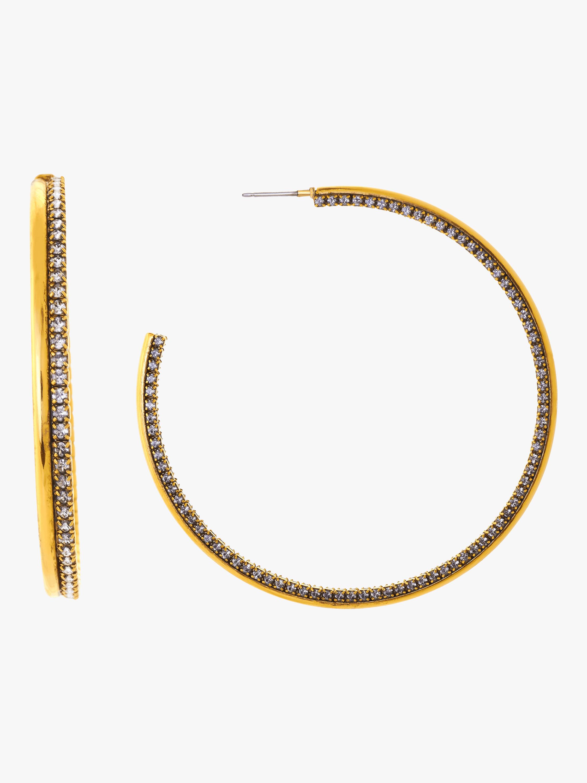 Erickson Beamon Breaker Of Chains Hoop Earrings 0